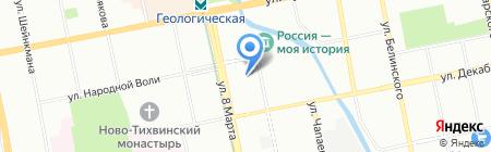 Ар-Лес на карте Екатеринбурга
