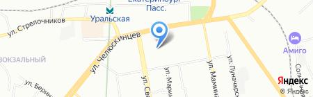 Леди на карте Екатеринбурга