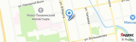 ВБУКЕТЕ.РФ на карте Екатеринбурга
