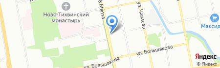 Банкомат УралТрансБанк на карте Екатеринбурга