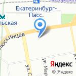 Мое удовольствие на карте Екатеринбурга