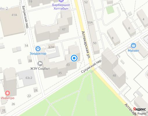 Товарищество собственников жилья «Горнощитский» на карте Екатеринбурга
