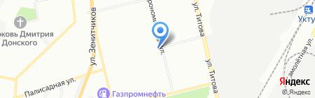 МТС на карте Екатеринбурга