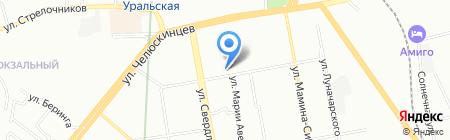 Мета-Финанс на карте Екатеринбурга