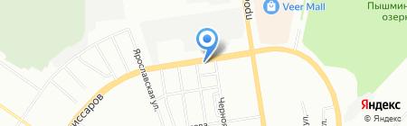 Семь морей на карте Екатеринбурга
