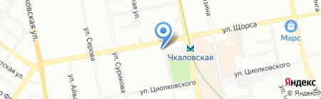Kerama Marazzi на карте Екатеринбурга