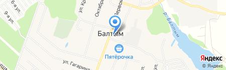 Надежда на карте Балтыма