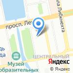 Расслабонов на карте Екатеринбурга
