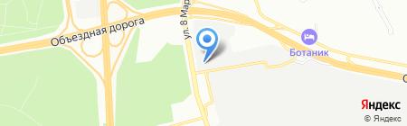 LeCar на карте Екатеринбурга