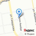 Таргец на карте Екатеринбурга