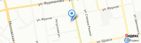 Графика на карте Екатеринбурга