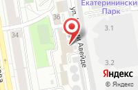Схема проезда до компании Екатеринбургэнерго в Екатеринбурге