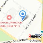 Я В ТОНУСЕ на карте Екатеринбурга