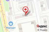 Схема проезда до компании Саян в Екатеринбурге