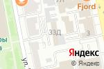 Схема проезда до компании Кокс-Полис в Екатеринбурге
