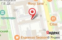 Схема проезда до компании Раш в Екатеринбурге