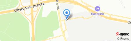 МЕХАНИКА УРАЛА на карте Екатеринбурга
