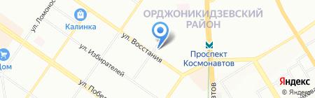 Трансформатор66 на карте Екатеринбурга