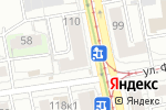 Схема проезда до компании Калинка-Малинка в Екатеринбурге