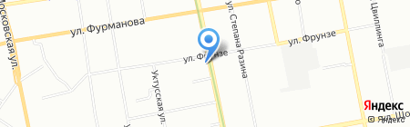 ЦентрОбувь на карте Екатеринбурга