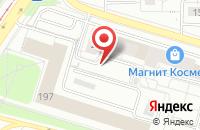 Схема проезда до компании Алладин в Екатеринбурге