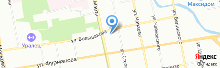 Виндекс на карте Екатеринбурга