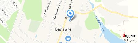 Спецмеханизация на карте Балтыма