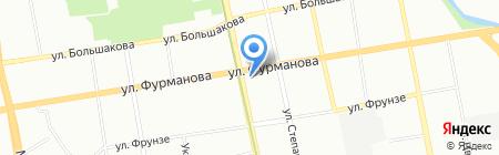 Зайка на карте Екатеринбурга