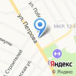 Магазин автозапчастей для грузовых автомобилей на карте Верхней Пышмы
