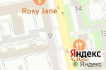 Схема проезда до компании Форалл в Екатеринбурге