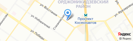 Формула X на карте Екатеринбурга