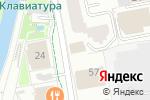 Схема проезда до компании Выкрутасы в Екатеринбурге