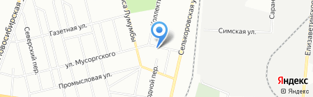 Охрана на карте Екатеринбурга