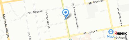 Центр нижнего белья и купальников на карте Екатеринбурга