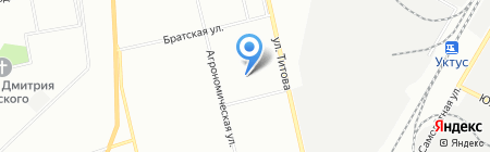 Детский сад №398 на карте Екатеринбурга