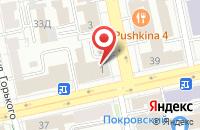Схема проезда до компании Екатеринбургский Центр Развития Предпринимательства в Екатеринбурге