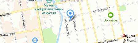Fashion Place Paul Mitchell на карте Екатеринбурга