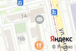 Схема проезда до компании Золотая Линия в Екатеринбурге
