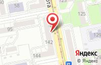 Схема проезда до компании Костромин и Партнеры в Екатеринбурге