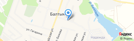Пилы от Петровича на карте Балтыма