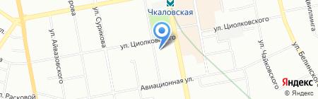 УФМС на карте Екатеринбурга