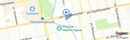 Караван Сарай на карте Екатеринбурга
