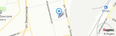 Феникс Плюс на карте Екатеринбурга