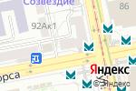 Схема проезда до компании Ням ням в Екатеринбурге