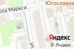 Схема проезда до компании Studio-VOV в Екатеринбурге