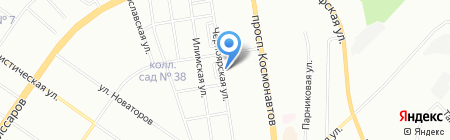 Детский сад №387 на карте Екатеринбурга