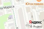 Схема проезда до компании Белый Будда в Екатеринбурге