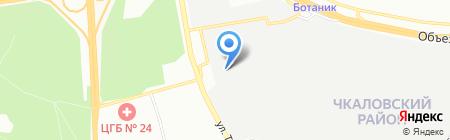 Абсолют-Авто на карте Екатеринбурга