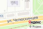 Схема проезда до компании Военторг Тыловик в Екатеринбурге