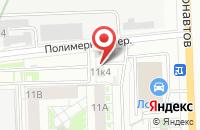 Схема проезда до компании Полифлекс-Урал в Екатеринбурге